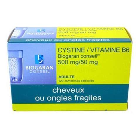 cystine vitamine  biogaran chute de cheveux  cpes