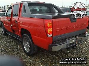 Used Parts 2006 Chevrolet Avalanche 5 3l