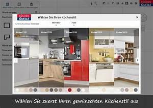 Kuche online planen mit 3d kuchenplaner von kuchen quelle for Küchenplaner 3d