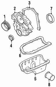 Mazda B3000 Engine Timing Cover Gasket  3 0 Liter