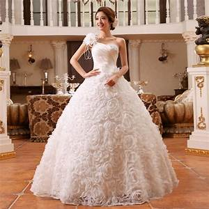 suzhou wedding dress 2015 one shoulder strap slim princess With one strap wedding dresses