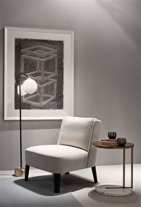 Armchair Side Table by Ralf Low Table Meridiani