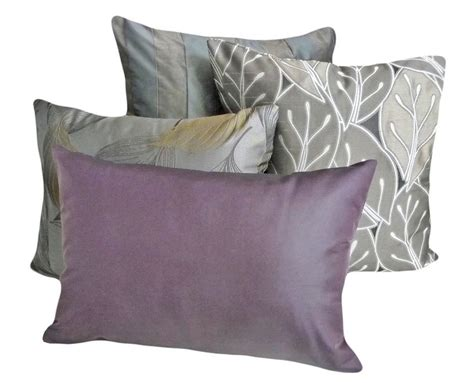 accent pillows for grey sofa purple and grey throw pillows best decor things