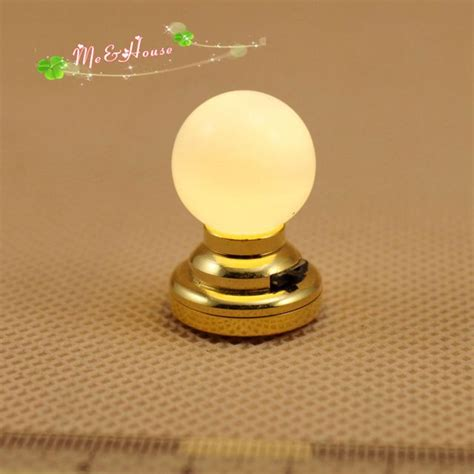 1 12 doll house kit accessories miniatures globe light