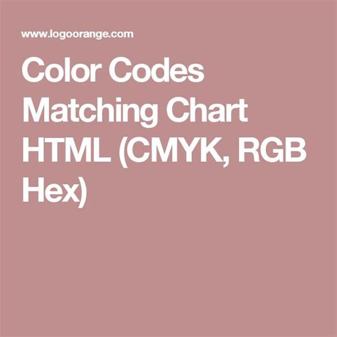 25 best ideas about cmyk color chart on