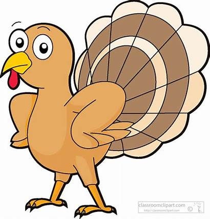 Turkey Thanksgiving Cartoon Clipart Clip Attitude Cliparts