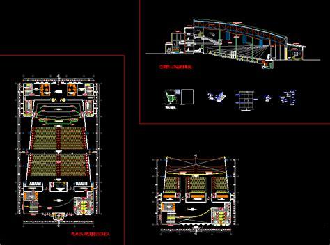 auditorium dwg detail  autocad designs cad