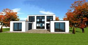 constructeur maison sur mesure d39architecte maisons With maison bois toit plat 10 descentes de charges pour une maison en ossature bois