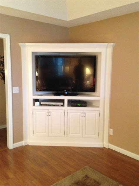 built in tv cabinet built in corner tv cabinet counter refinished