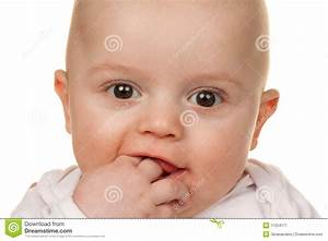 Face Of A Wondering Baby Stock Image - Image: 17254171