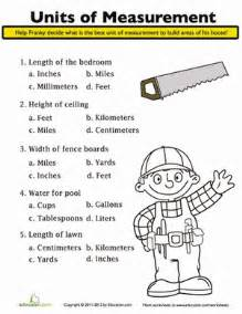 math assignments for 5th graders units of measurement worksheet education