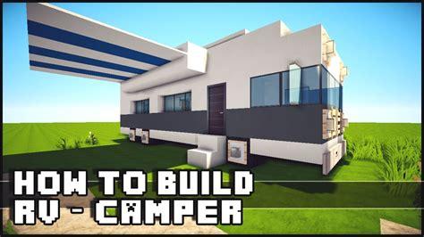 how to build a minecraft how to make rv cer