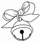 Bells Coloring Christmas Pages Jingle Bell Simple Getcolorings Printable Clipart Getdrawings Colorings sketch template