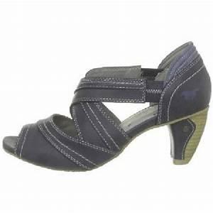 Absatz Berechnen : mustang shoes damen sling pumps schuhe dunkelblau mit ~ Themetempest.com Abrechnung