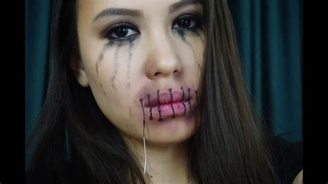 foto de Stitched Lips (You can actually talk with it ) YouTube