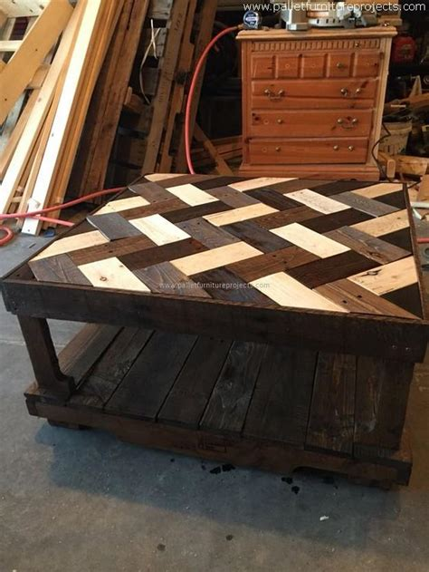 coffee table made out of pallet wood repurposed wood pallet tables pallet furniture projects