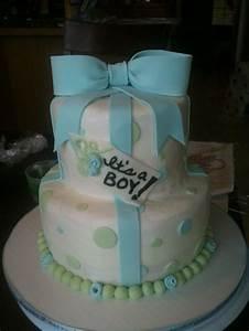 Classy baby shower cake for boy | Cake Boss | Pinterest ...
