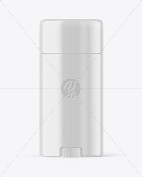 Present your design on this mockup. Glossy Plastic Deodorant Stick Mockup in Bottle Mockups on ...