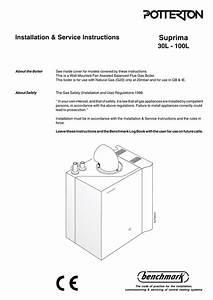 Relight Pilot Light Potterton Boiler
