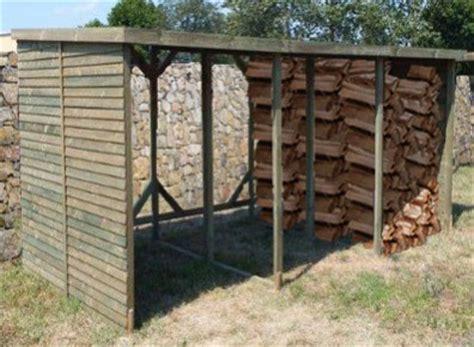 abri bûche rangement bois de chauffage 20 stères