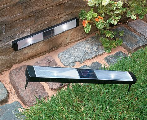 solar powered pathway strips for the home
