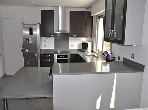 plan de travail de cuisine en quartz plan de travail cuisine quartz obasinc com