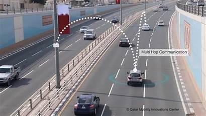 System V2x Qatar Communication Vehicle Roads