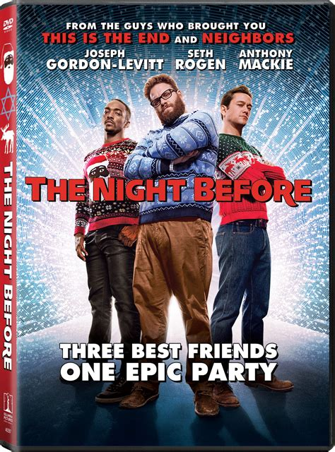 The Night Before Dvd Release Date March 1, 2016
