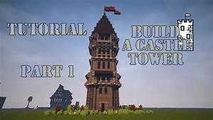 Minecraft Tutorial - Burgturm bauen - Build Castle Tower ...