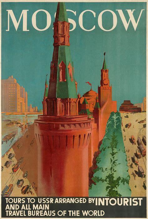 intourist posters   soviet era retours