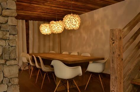 deco salle a manger rustique modern chalet interior design cosy neve design