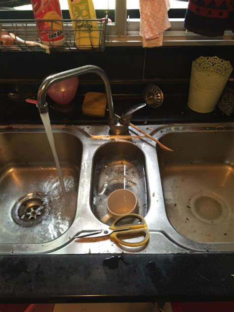 how to clear a clogged kitchen sink with clogged kitchen sink singapore singaporeplumbingworks