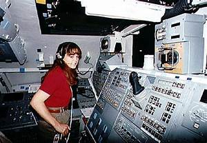 Astronaut Tamara E. Jernigan training for STS-67