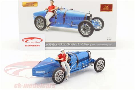 The bugatti 100p was designed to set the 3 km absolute world speed record for landplanes and was arguably one of the most beautiful aircraft ever bugatti and de monge felt the 100p was capable of around 500 mph (800 km/h). CMC 1:18 Bugatti Type 35 Grand Prix #30 blue with female racer figurine M-100 B-018 model car M ...