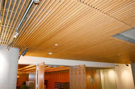 rulon suspended wood ceilings tasco