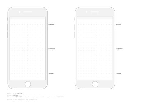iphone 6 template iphone 6 template vector graphic 365psd