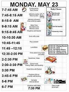 Pin By Organizing Made Fun On Organized Schedules Daily