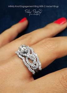 unique engagement ring set wwwpixsharkcom images With unique wedding bands for solitaire rings