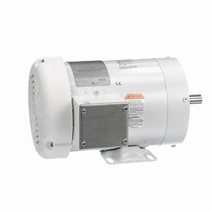 1 Hp Washdown Motor  3 Phase  1800 Rpm  230  460 V  56c
