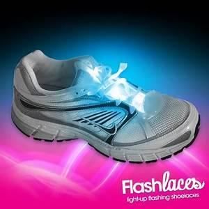 Flashing Blue Shoe Laces Wholesale