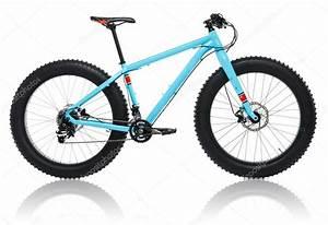 Reifen Für Fahrrad : neues blaues fahrrad mit dicken reifen f r schnee fahren ~ Jslefanu.com Haus und Dekorationen
