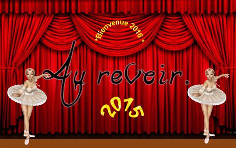rideau qui s ouvre le rideau se ferme sur 2015 et s ouvre sur 2016