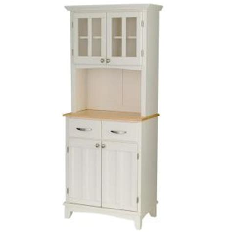 Home Depot Style Ls by Home Styles Two Drawer 31 25 In W White Buffet With Wood
