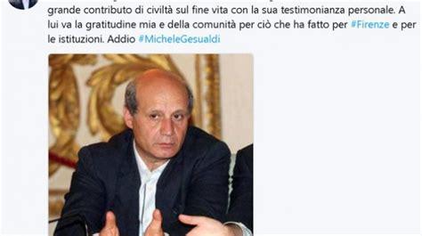 Gli hanno detto che aveva solo placche alla gola [source: Morto Michele Gesualdi, fece appello per legge sul ...