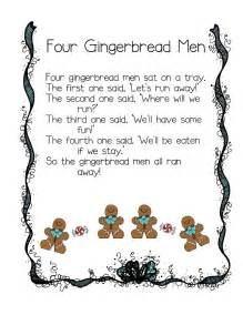Christmas Gingerbread Man Poem