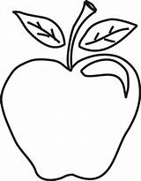 Apple Coloring Apples Colouring Clipart Sheet Printable Preschoolers Outline Clip Drawing Olds Popular Coloringhome Getdrawings Clipartmag Library Cliparts sketch template
