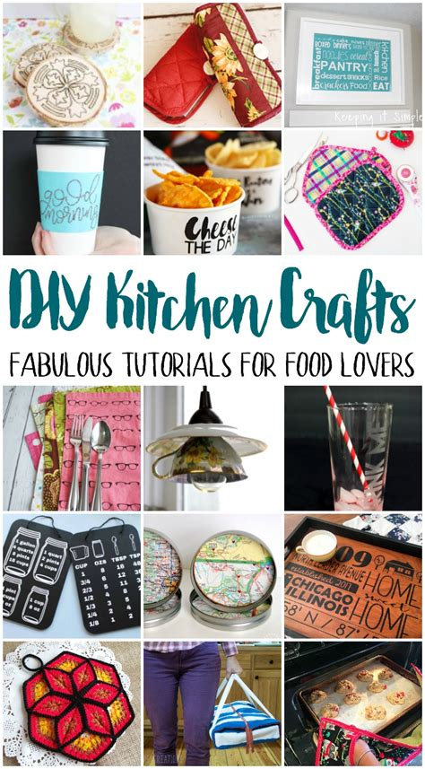 diy kitchen crafts mmm  block party keeping  simple