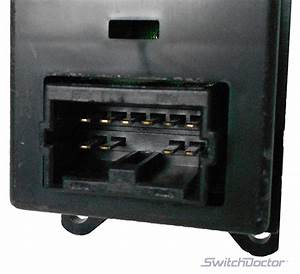 Mitsubishi Eclipse Spyder Power Window Switch 2000