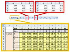 Excelling with Excel #4 – Indirect References AIChE