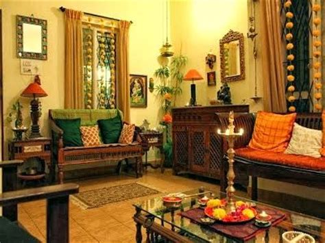 Traditional Indian Living Room Interior Design